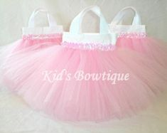 Items similar to CUSTOM LISTING: 15 Disney Princesses Inspired TINKERBELL Party Favor Tutu Bags on Etsy