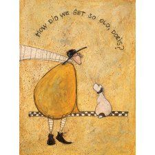 Framing Option:Framed Print Unique Arts A Stubborn Sit Limited Edition Print by Sam Toft