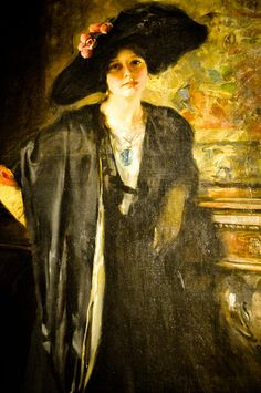 Irving Wiles - My Daughter Gladys, 1913 at Renwick Art Gallery Washington DC | Flickr - Photo Sharing!