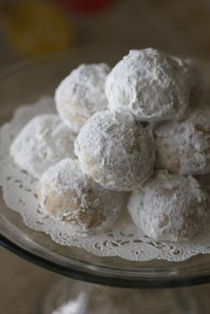 Mexican Wedding Cake Cookies On Pinterest