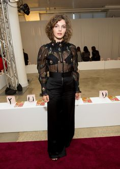 Camren Bicondova, Gotham Tv, Shows In Nyc, Celebs, Celebrities, Hollywood Actresses, New York Fashion, Front Row, Fashion Show