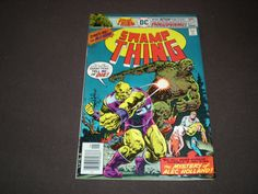 Swamp Thing 24 (1972 1st series), Thrudvang, 1976, Last issue, DC Comics C15 by HeroesRealm on Etsy
