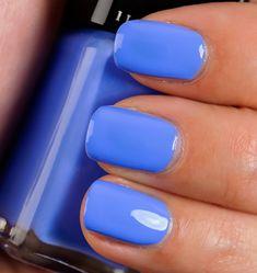 Illamasqua Cameo Nail Varnish . A Great Summer Blue