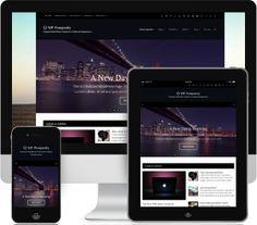 WP-Prosperity - Premium Responsive WordPress Theme