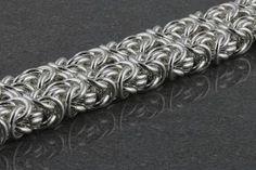 Chainmaille pattern - Byzintine 4