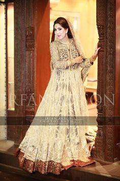 53 White & Cream Inspirational Pakistani Bridal Outfits {Irfan Ahson Photography}