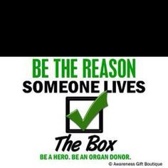 Be an organ donor, be a HERO!
