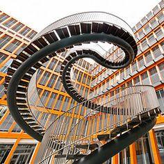 "Christian Beirle González Endlessness I  KPMG Building Munich - ""Umschreibung"" by Olafur Eliasson"