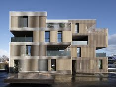Striped Living | group8 | Archinect