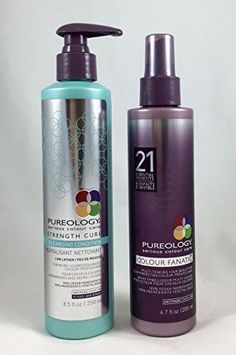 Pureology Cleansing Condition  Strength Cure 85oz  Colour Fanatic 67oz * For more information, visit image link.
