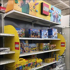 Lego Store-In-Store Category Definition – Fixtures Close Up Retail Fixtures, Store Fixtures, Lego Store, All Lego, Lego Star Wars, Definitions, Shop Lego