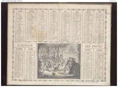 calendrier 1867