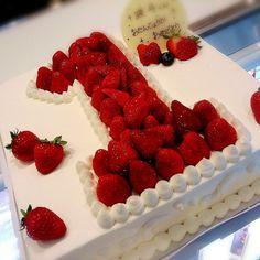 ♡1歳誕生日ケーキ♡