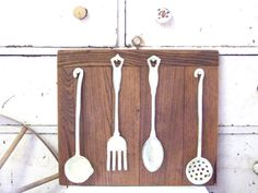Rustic Cast Iron Kitchen Decor