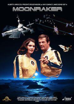 James Bond 007 - Moonraker - poster 2