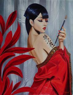 geisha (Nathalie Armand) …