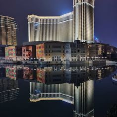 macaulifestyle Reflection of 📷 by . Macau, Willis Tower, Hotels And Resorts, Venetian, Reflection, Asia, Lifestyle, Luxury, City