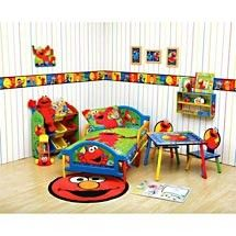 Exceptionnel His Nursey Was Alot Like This..down To The Light Fixture On The Ceiling. Sesame  Street RoomToddler ...