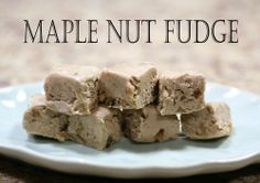 Maple Nut Fudge