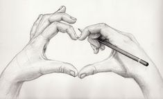 Love to Draw -10  Cool Heart Drawings for Inspiration, http://hative.com/heart-drawings/,