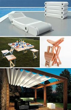Shade for the patio... great design.