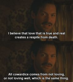 Hemingway from Midnight in Paris <3 and considering that this quote is absolutely beautiful, I should read the book.