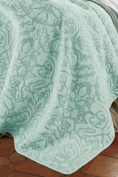 Soft Surroundings is your store for luxurious bedding sets to outfit your bedroom with beauty. Our bedding collections are inspired by vintage bedding with plush fabric & gorgeous detail. Amalfi, Home Bedroom, Bedroom Decor, Master Bedroom, Turquoise Bedding, Soft Surroundings, Pretty Bedroom, Awesome Bedrooms, Spare Room