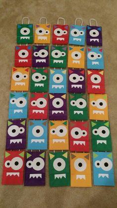 Monster goodie bags...