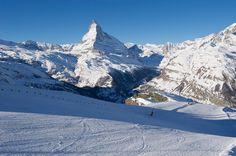 Zermatt:Fränzi Aufdenblattens Lieblingspiste - Spot Media
