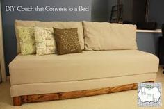 how to convert twin bed into couch - Google Search