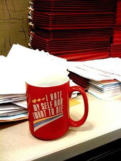 Nice Mug: oh man, I kind of need this mug. It would make me laugh every day!