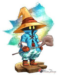 Final Fantasy IX : Vivi Ornitier by Milee-Design