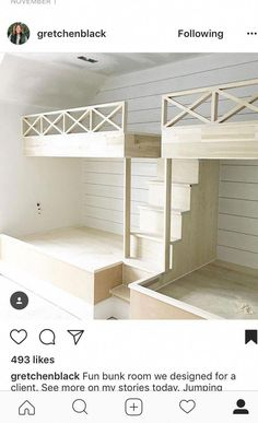 20 Finest Bunk Bed King Full Over Full Bunk Beds Bedroom Sets For Kids – Basement İdeas 2020 Bunk Bed Rooms, Bunk Beds Built In, Full Bunk Beds, Bunk Beds With Stairs, Kids Bunk Beds, Double Bunk Beds, Built In Beds For Kids, Loft Bunk Beds, Build In Bunk Beds