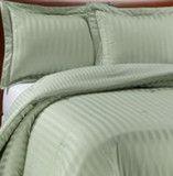 Charter Club Damask Stripe Down Alternative Comforter Twin Medium Weig
