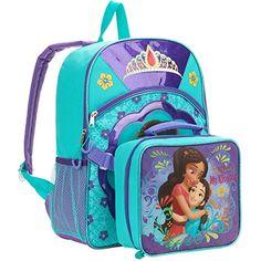 a7ef7e3826b  ad  disney Disney Princess Elena Full Size Backpack w Detachable Lun.