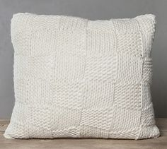 This pillow is $550! It's basic knitting, alternating garter and stockinette stitch. I can't believe people really pay that much. SMH http://www2.pictures.lonny.com/mp/Pqfm0oRZnPGl.jpg