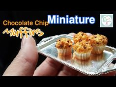 Miniature Food Pastry Tray Polymer Clay Tutorial in Time Lapse - YouTube