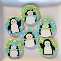 Adorable penguin cookies!
