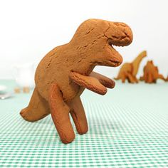 Party Goods — Absolutely Prehistoric | Stars and Dinosaurs | Prehistoric Party | Party Goods: 3D Dino Cookie Cutters