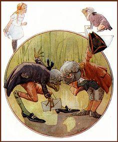 Margaret Tarrant.Alice in Wonderland 1921