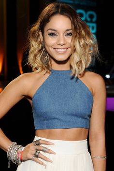 See the secret to getting Vanessa Hudgens' bendy bob, plus all the celeb style secrets now!