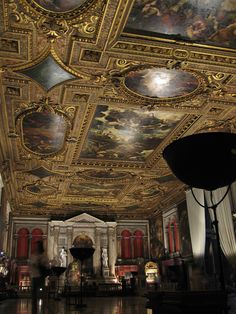 Tintoretto's ceiling, Venice