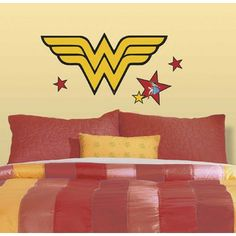 Wonder Woman Decal (for over Phia's bed)