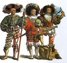 Renaissance, Trommler, Elizabethan Costume, Landsknecht, Fantasy Inspiration, Old World, Medieval, Empire, Military