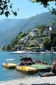 Ascona Lago Maggiore - Fotografien - P A S T E L P I X