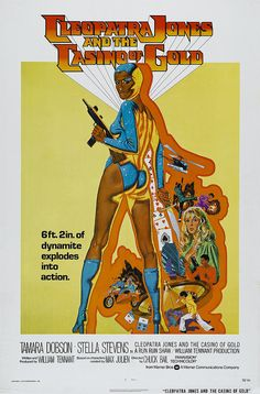 1975 cleopatra jones and the casino of gold 01 by dBoutet, via Flickr