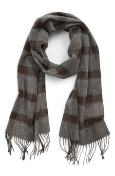 Nordstrom Plaid Stripe Wool Scarf available at #Nordstrom $49.50