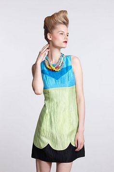Made in Kind Dress by Tracy Reese for Anthropologie.