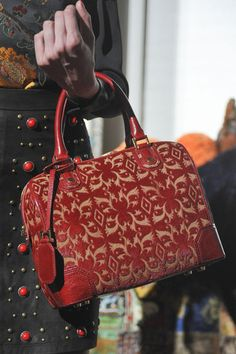 Its in the Bag: See the Best Arm Candy From New Yorks Fall 13 Runways: Tory Burch Fall 2013 : Rebecca Minkoff Fall 2013 : Milly Fall 2013 : Kate Spade New York Fall 2013 : Alice + Olivia Fall 2013