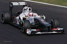 2012 GP Włoch (Monza) Sauber C31 - Ferrari (Kamui Kobayashi)